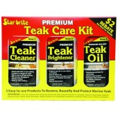 Starbrite Teak Care Kit (16oz)